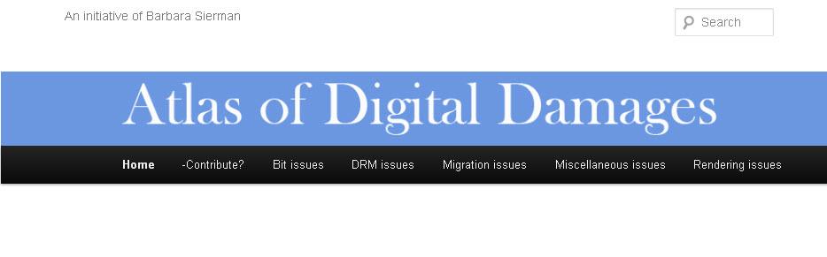 Atlas of Digital Damages