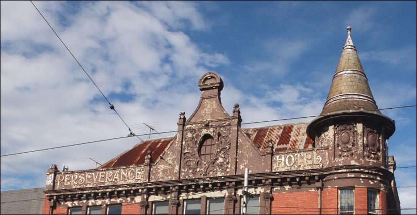 Perseverance Hotel, Brunswick Street, Melbourne